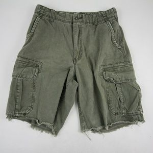 American Eagle Outfitters Men's Cargo Shorts Olive